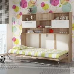 Bērnu gultas ar skapi
