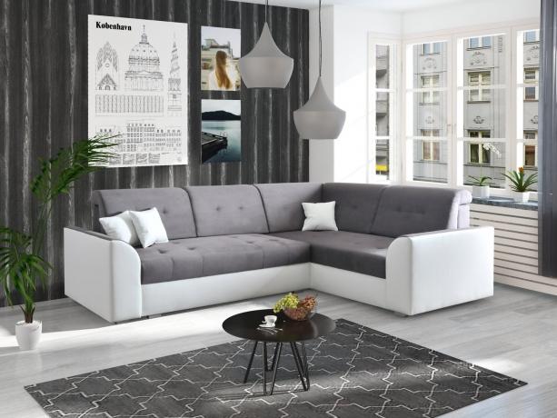 Izvelkamais Stūra dīvāns TAURUS