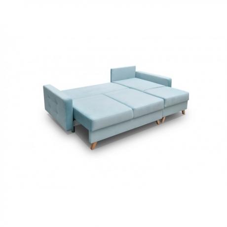 Stūra izvelkamais  dīvāns VEGAS