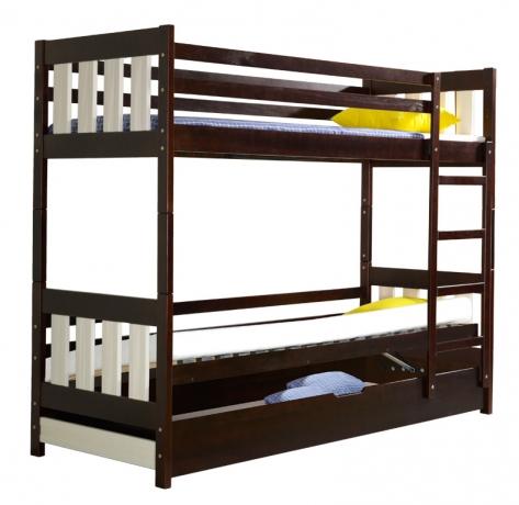 KACPER divstāvu bērnu gulta