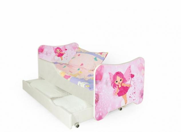 Bērnu gulta HAPPY FAIR