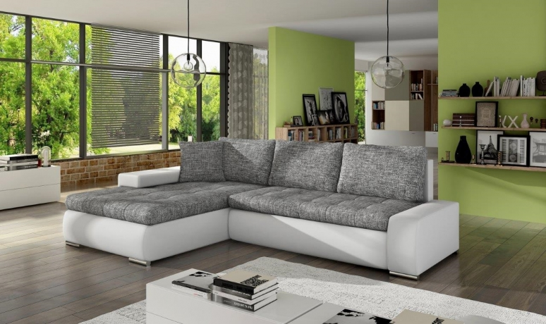 Stūra izvelkamais dīvāns Herkules Mini