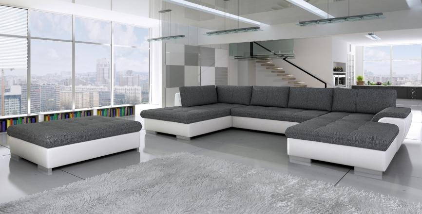 Izvelkamais stūra dīvāns TOKIO Maxi