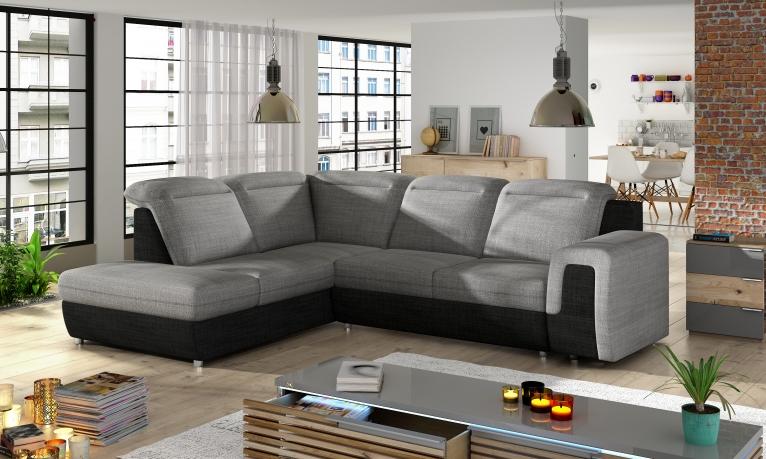Izvelkamais stūra dīvāns PANAMA L