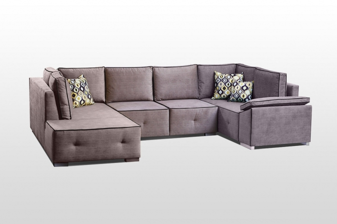 Izvelkamais stūra dīvāns FUNKY MAXI