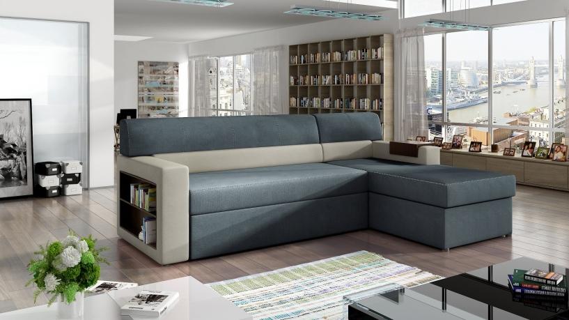 Izvelkamais stūra dīvāns RICO