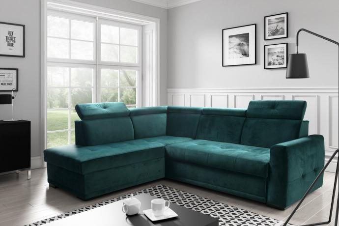 Izvelkamais stūra dīvāns VENTURO