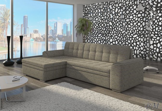 Conforti izvelkamais stūra dīvāns