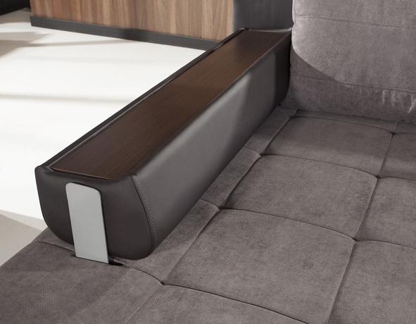 Link izvelkamais stūra dīvāns