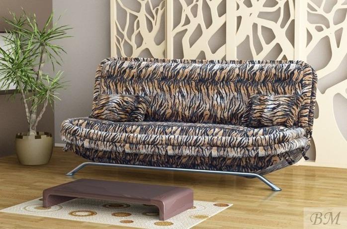 KLAUDIA chrom dīvāns