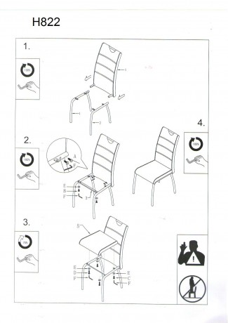 H-822 Krēsls SIGNAL