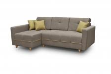 Izvelkamais Stūra dīvāns GREY