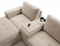 Stūra dīvāns TABOO 1P L + BOX.MEDIA