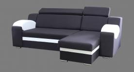 Stūra izvelkamais  dīvāns Milan