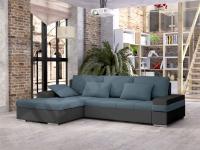 Izvelkamais stūra dīvāns Kanton Mini