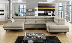 Izvelkamais stūra dīvāns PHOENIX XL