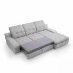 GUSTO izvelkamais stūra dīvāns