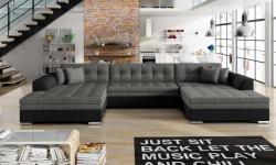 VENTO stūra izvelkamais dīvāns